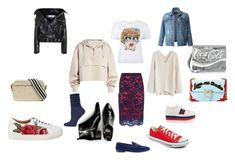 """""""Jan6"""" by nadinstarling on Polyvore featuring мода, Pinko, Ivy Park, Chicwish, LE3NO, Balenciaga, Sperry, Dolce Vita, Converse и Gucci"""