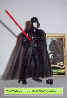 star wars action figures DARTH VADER DAGOBAH power of the jedi hasbro toys