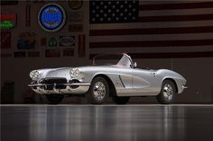 A very special example of the final year first-generation Corvette sporting a 3-year concours quality restoration. This Fuel Injected Corvette shows attentio...
