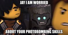 Jay: *PHOTOBOMBING INTENSIFIES* -- repinning for that caption XD
