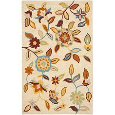 Safavieh Blossom Collection BLM677A Handmade Wool Area Rug, 8-Feet by 10-Feet, Beige and Multi Safavieh http://www.amazon.com/dp/B0062BKRNQ/ref=cm_sw_r_pi_dp_JHyUub077GRG2