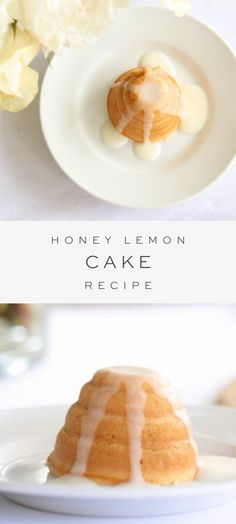 A delightfully sweet Honey Lemon Cake with a tender crumb topped in a delicious glaze. A delightfully sweet Honey Lemon Cake with a tender crumb topped in a delicious glaze. Lemon Desserts, Köstliche Desserts, Delicious Desserts, Yummy Food, Lemon Cakes, Baking Recipes, Cake Recipes, Dessert Recipes, Fudge Recipes