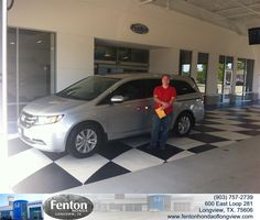 https://flic.kr/p/wKFbcg | Congratulations to Jeremy Butler on your #Honda #Odyssey from Brian Vermillion at Fenton Honda of Longview! #NewCar | www.fentonhondaoflongview.com/?utm_source=Flickr&utm_...