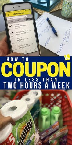 Coupon advice for those looking to invest a short amount of time but still wanting to save money! #couponing #savemoney #couponcommunity Couponing For Beginners, Couponing 101, How To Start Couponing, Extreme Couponing, Coupon Lady, Coupon Queen, Coupon Organization, Organizing Coupons, Best Money Saving Tips
