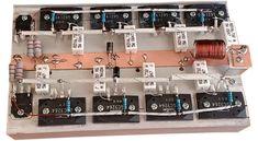 Building Amplifier circuit at home Diy Amplifier, Car Audio Amplifier, Speakers, Electronic Circuit Design, Electronic Engineering, Diy Electronics, Electronics Projects, Circuit Cars, Ab Circuit