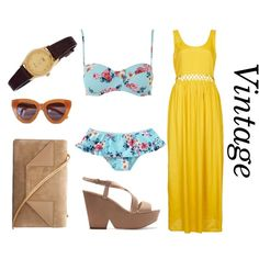 Summer Icon 6 : Vintage by kandyzz on Polyvore