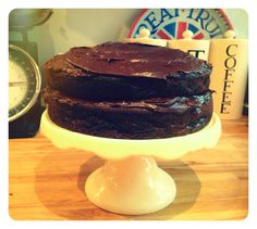 #Chocolate Banana #Cake http://www.modernmummy.co.uk/2012/11/a-recipe-chocolate-banana-cake.html