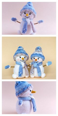 Hottest Free amigurumi free pattern snowman Concepts Amigurumi Small Snowman Free Pattern – Amigurumi Free Patterns And Tutorials : Amigurumi Small S Crochet Dolls Free Patterns, Christmas Crochet Patterns, Amigurumi Patterns, Amigurumi Doll, Crochet Toys, Crocheted Animals, Crochet Christmas, Octopus Crochet Pattern, Crochet Buttons