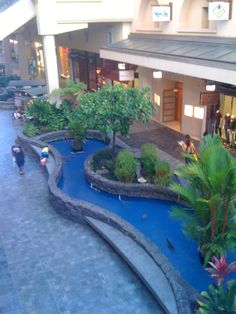 Ala Moana Mall in Honolulu.