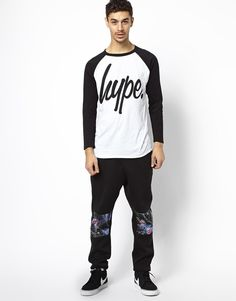 Hype Raglan Long Sleeve T-Shirt