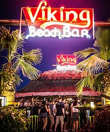 "Disco.BG – Disco Beach Bar ""VIKING"" Sunny Beach / SUNNY BEACH Night Club, Night Life, Disco Night, Disco Club, Summer Quotes, Sunny Beach, Beach Bars, Bulgaria, Vikings"