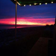 We love a beach sunset