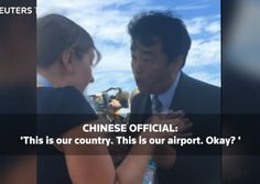 A Chinese official confronted US President Barack Obama's national security…