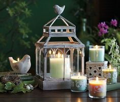 Winter/Spring 2013 sneak peek...birds! Available Dec. 18. #PartyLiteCanada #candles
