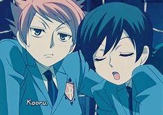 Hikaru and Haruhi... Haha, Hikaru lacks common sense :) It's pretty true.