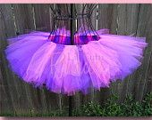 Tinkz - Neon Purple Tutu - Rave - Dance - Club - Party - Available in Infant, Toddler, Girls, Teenager and Adult Sizes. $18.99, via Etsy.