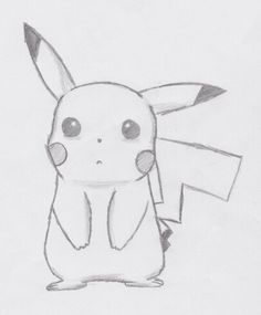 Pikachu (sad) à partir de - # # à partir de - Zeichnungen traurig - Cute Easy Drawings, Sad Drawings, Cool Art Drawings, Pencil Art Drawings, Art Drawings Sketches, Disney Drawings, Cartoon Drawings, Animal Drawings, Drawing Disney