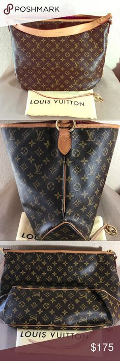 Hobo Handbag In EUC. comes with dustbag. PRICE REFLECTS. please no silly questions.😊 Louis Vuitton Bags Hobos