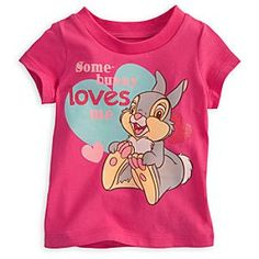 Disney Thumper Tee for Baby - Bambi | Disney StoreThumper Tee for Baby - Bambi - Cute as a fluffy cottontail, Thumper's tee is made from soft and cuddly organic cotton. This adorable tee is a special treat with Thumper and his great big feet.