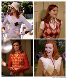Desperate Housewives Bree Van De Kamp argyle sweaters