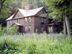 """wisdom-of-spring:  Louisa May Alcott's """"Orchard House"""" in Concord, Massachusetts. Setting for """"Little Women."""""""