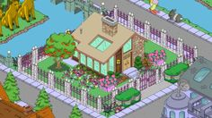 (Image) Put them around the sandbox in the school playground Springfield Simpsons, Springfield Tapped Out, The Simpsons Game, Planet Coaster, Minecraft, The Neighbourhood, Tape, Gaming, Layout