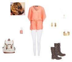 """a night in the town"" by emilyk217 ❤ liked on Polyvore"