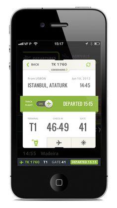 Flight Tracking UI