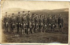 WW1 1915 Seaforth HIGHLANDERS in FRANCE Color Tinted PHOTO 201-D