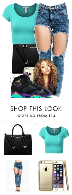 """"""""""" by aaliyaharmstrong ❤ liked on Polyvore featuring MICHAEL Michael Kors, J.TOMSON, LOTTA and Retrò"""
