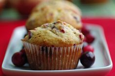 Chocolate Chip Cranberry Muffins