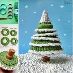 We have posted so many DIY ideas about Christmas tree. Here is another pretty one ---Crochet Christmas tree. It's easy for any crochet beginners. This life