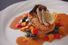 二十四節気 創作和会席「美湖膳」お魚料理一例