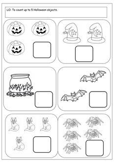 FREE Halloween Counting Activity