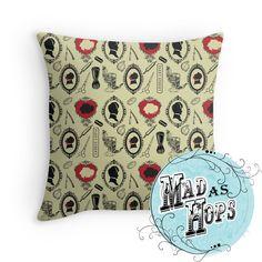 Sweeny Todd & Mrs Lovett cushion design coming soon by Olivia Sullivan - Mad as Hops