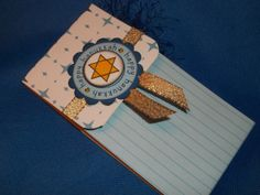 HANUKKAH Pocket CardYour choice by PocketCardsbyPam on Etsy, $8.00