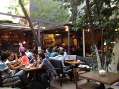 Küp Cafe Saklıbahçe: A good place for a beer, outdoors