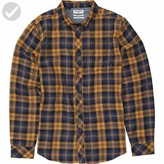 Billabong Men's Flannel Shirts, Dijon Heather, Medium - Mens world (*Amazon Partner-Link)