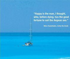 Sail the Aegean...