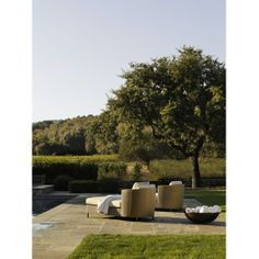 Barbara Barry Outdoor for McGuire,Harbor Chaise