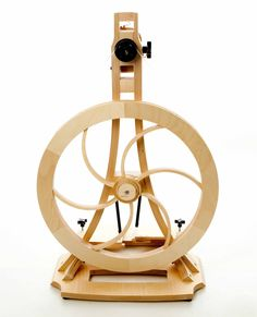 Artisan Spinning Wheel by Acadia Wheel and Loom with Free Shipping. $1,350.00, via Etsy.    i can dream, right?