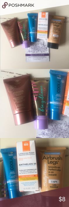 Sun and tan bundle Bundle of deluxe samples to protect your skin from the sun and to get a bronzed look. Perfect for a warm weather getaway. Sephora Makeup