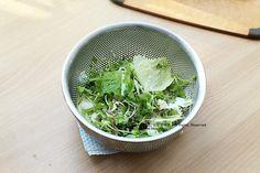 연근샐러드, 검은깨드레싱과 함께! 건강샐러드^^ : 네이버 블로그 Spinach, Cabbage, Vegetables, Cooking, Food, Food Food, Kitchen, Essen, Cabbages