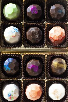 Truffle Boxes, Cake Truffles, Tea Party, Panna Cotta, Sweets, Candy, Cooking, Mini, Ethnic Recipes