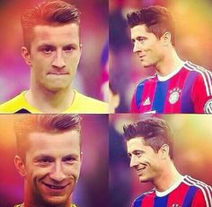 Marco and Lewy #BROMANCE #footballislife