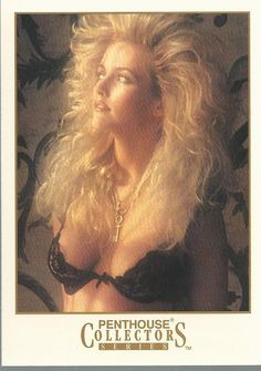 Ginger Miller #77 Pent House Collectibles Trading Card 1992