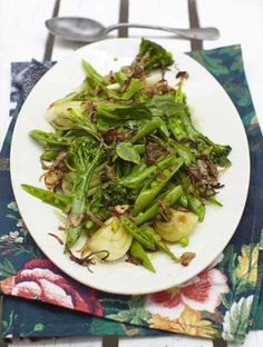Jamie's Steamed Chinese Greens