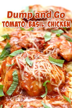 Easy dump and go chicken recipe in the Instant Pot or slow cooker!