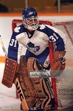 ken-wregget-of-the-toronto-maple-leafs-prepares-for-a-shot-against-picture-id463942160 (406×612) Hockey Goalie, Hockey Games, Ice Hockey, Field Goal Kicker, Maple Leafs Hockey, Goalie Mask, Mask Ideas, Nfl Fans, Toronto Maple Leafs
