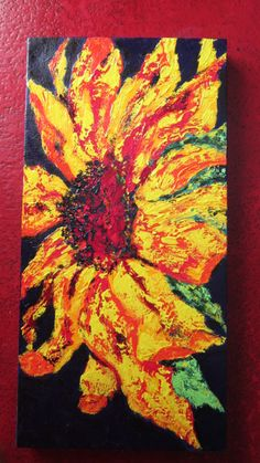 original painting on canvas by Texas artist Diane Kraft
